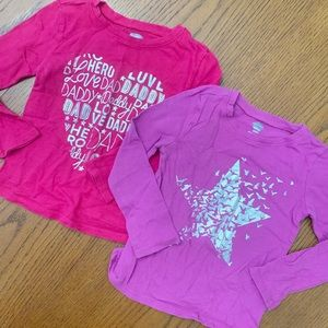 Old Navy L/S tees 2T